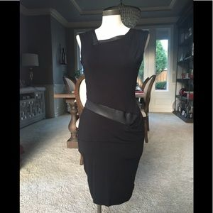 NWT Heather black dress